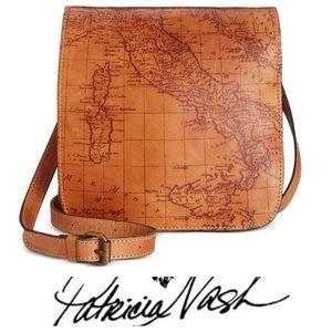 Patrica Nash Leather Crossbody Handbag